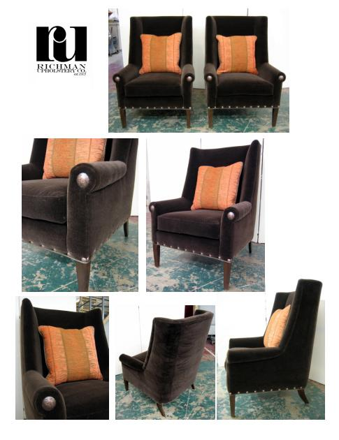 Tall Back Host Chairs